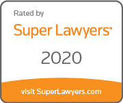 Super Lawyers 2020 Award Badge